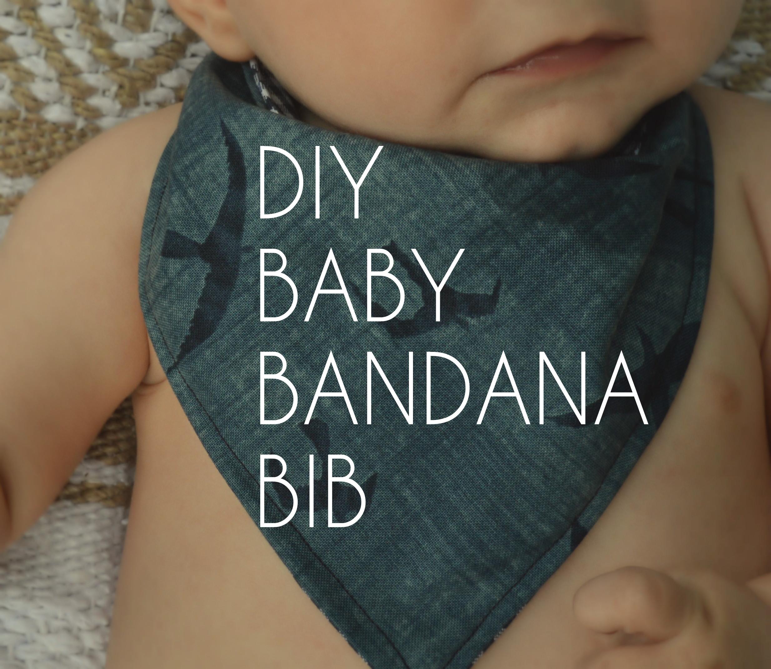 Best ideas about DIY Baby Bibs . Save or Pin DIY Baby Bandana Bibs Now.