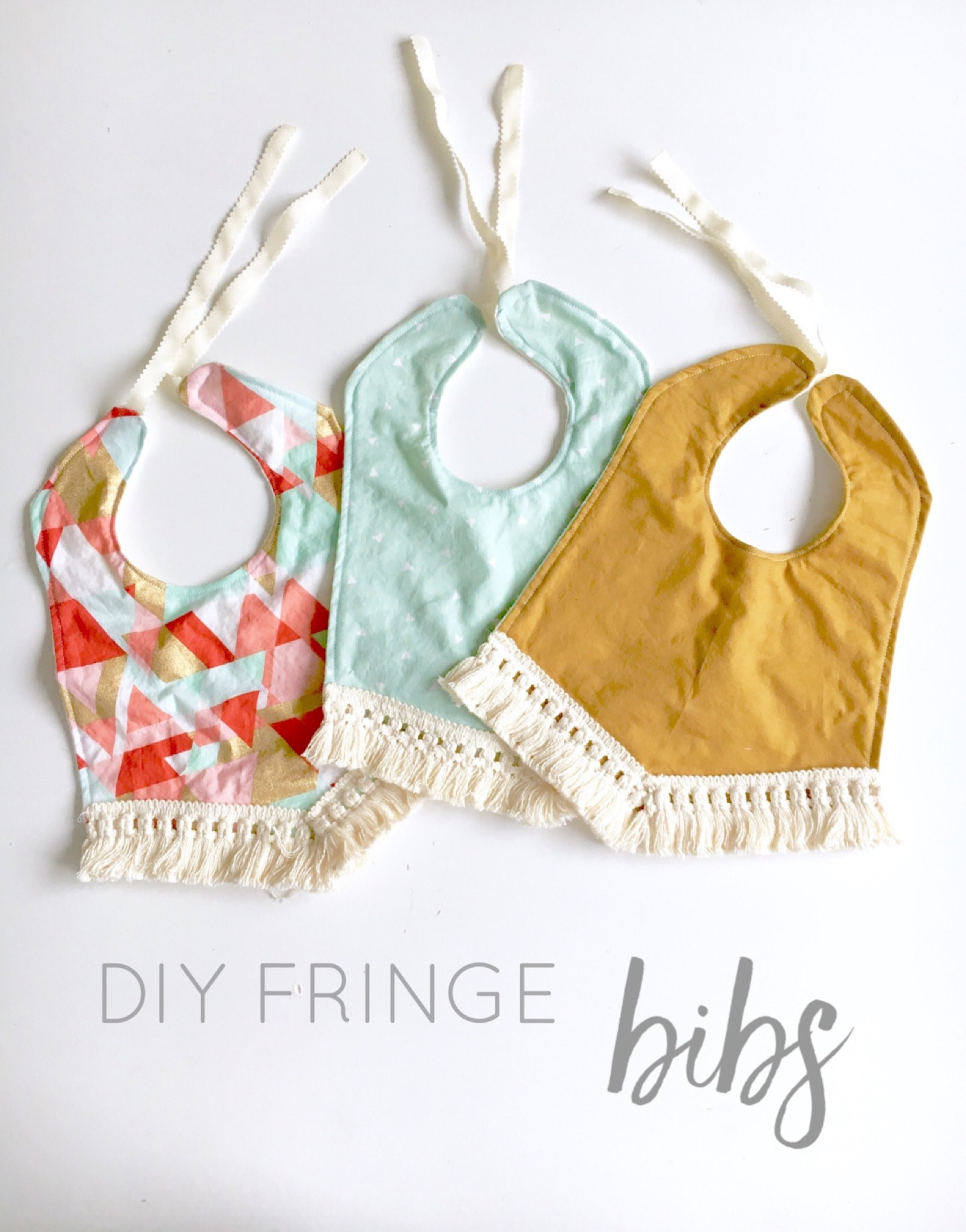 Best ideas about DIY Baby Bibs . Save or Pin DIY Fringe Bibs Life on Waller Now.