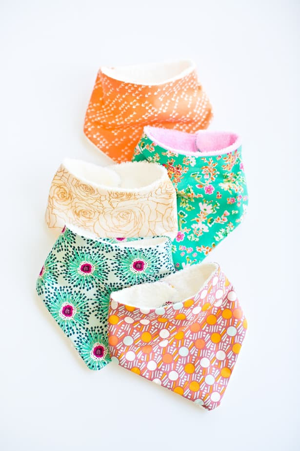 Best ideas about DIY Baby Bibs . Save or Pin HOW TO MAKE CUTE BABY BANDANA BIBS Now.