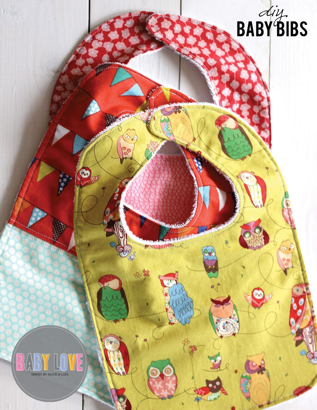 Best ideas about DIY Baby Bibs . Save or Pin DIY Baby bibs sewing tutorial Sewing crafts Now.