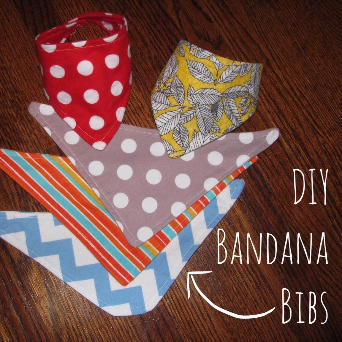 Best ideas about DIY Baby Bibs . Save or Pin DIY Bandana Bibs Now.