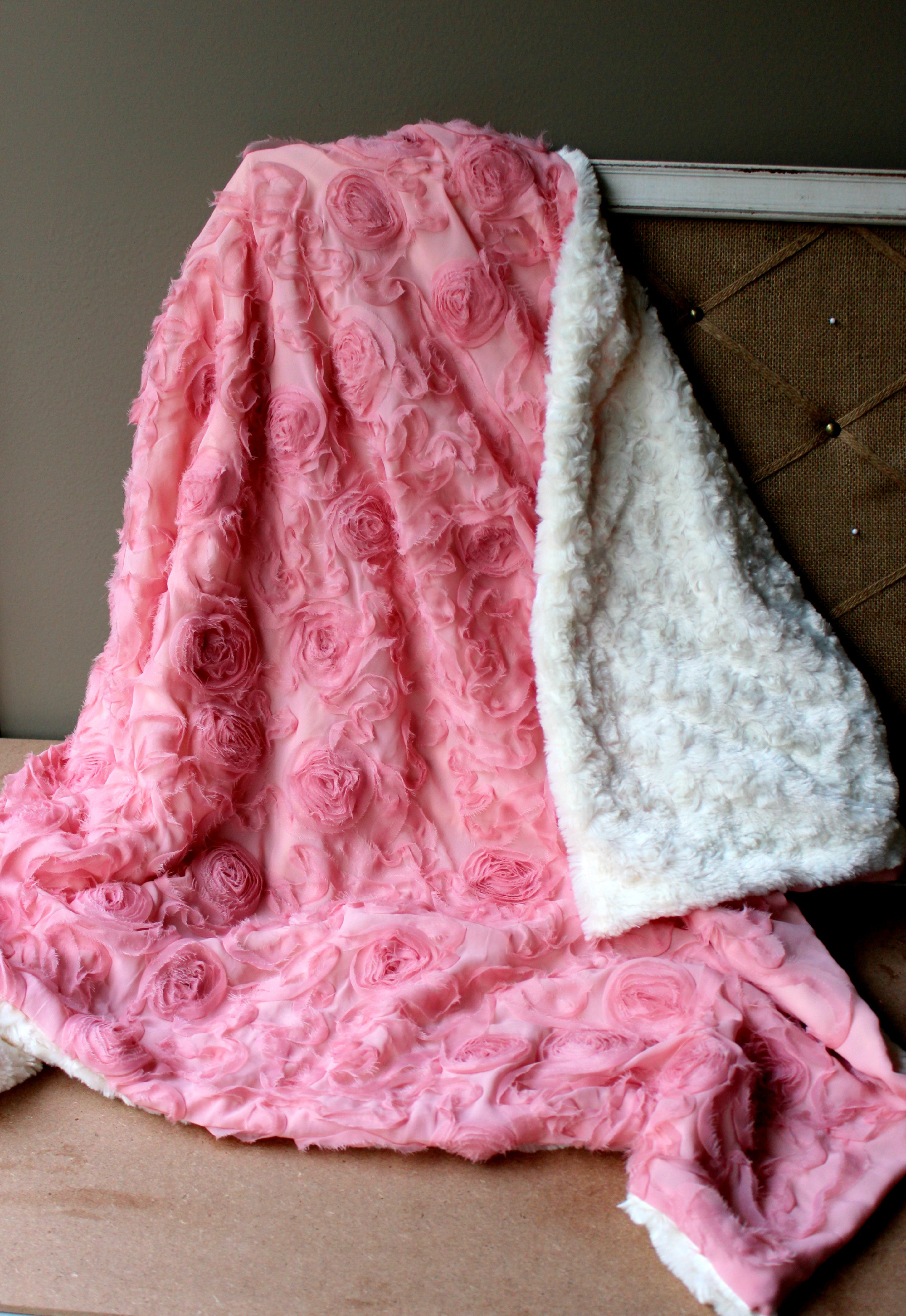 Best ideas about DIY Baby Blanket . Save or Pin Rosette Baby Blanket DIY – My Mom Taught Me To Play With Now.