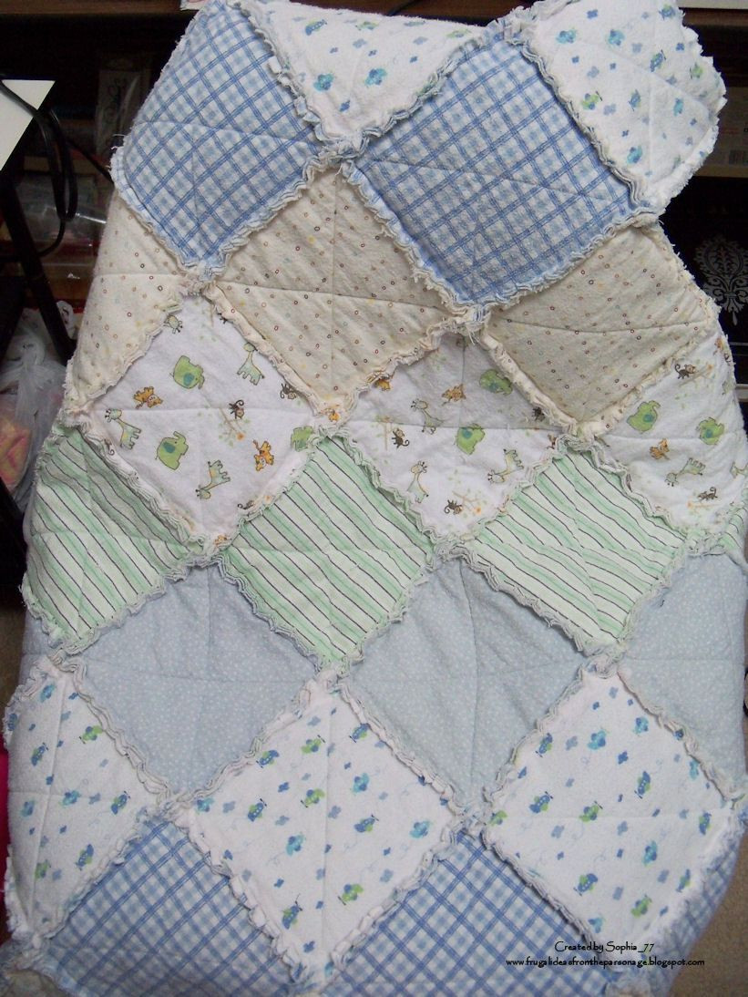 Best ideas about DIY Baby Blanket . Save or Pin Sophia s Sundries formerly Frugal Ideas from the Now.