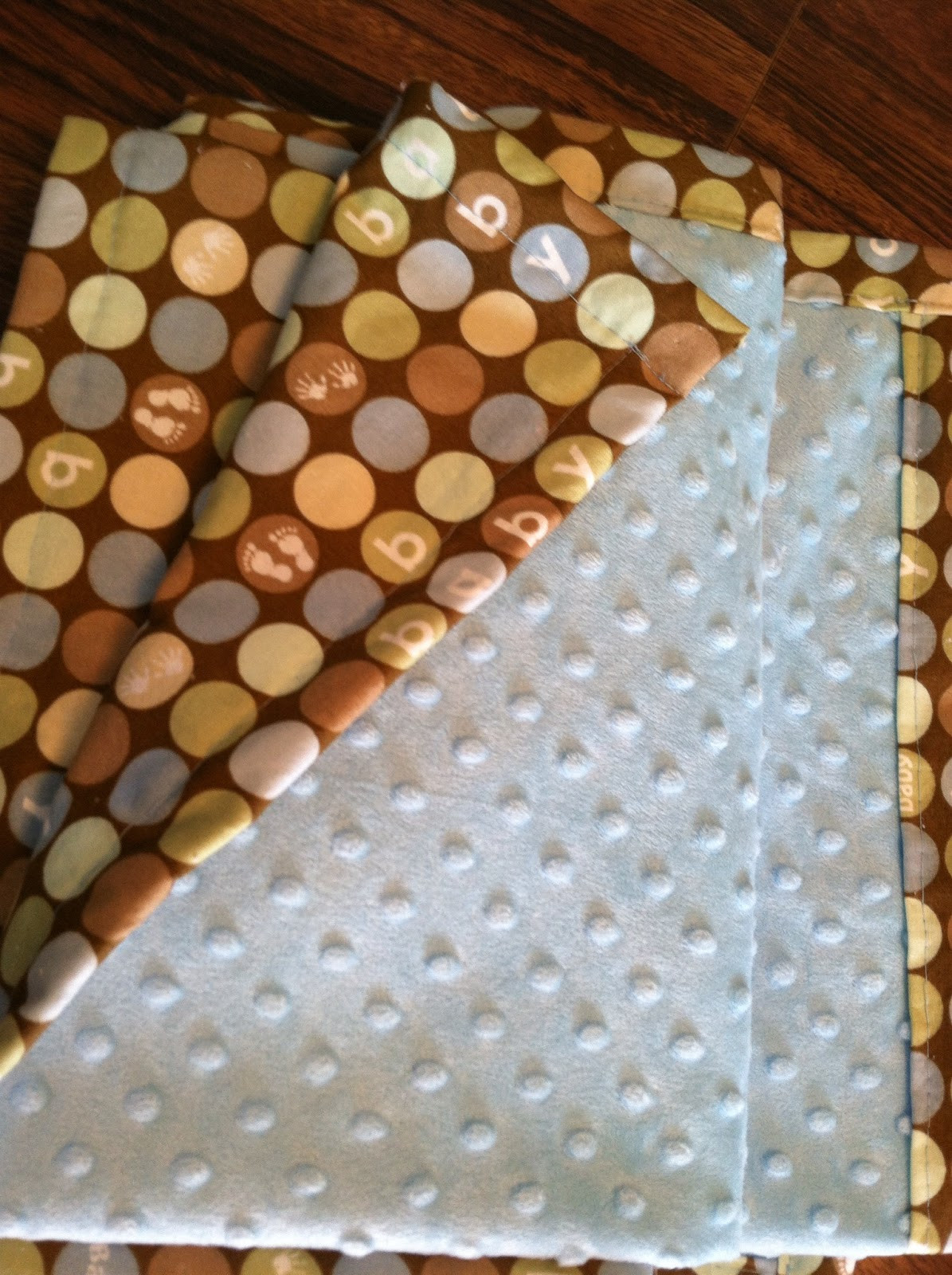 Best ideas about DIY Baby Blanket . Save or Pin Living in His Grace Easy DIY baby blanket Now.