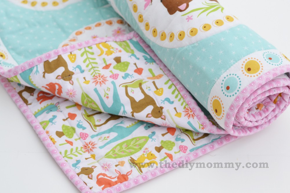 Best ideas about DIY Baby Blanket . Save or Pin Sew an Easy Beginner's Baby Quilt Now.