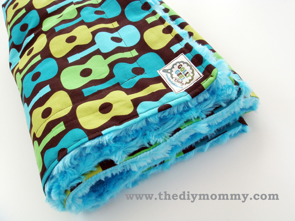 Best ideas about DIY Baby Blanket . Save or Pin How to sew a baby boutique blanket with cotton and minky Now.