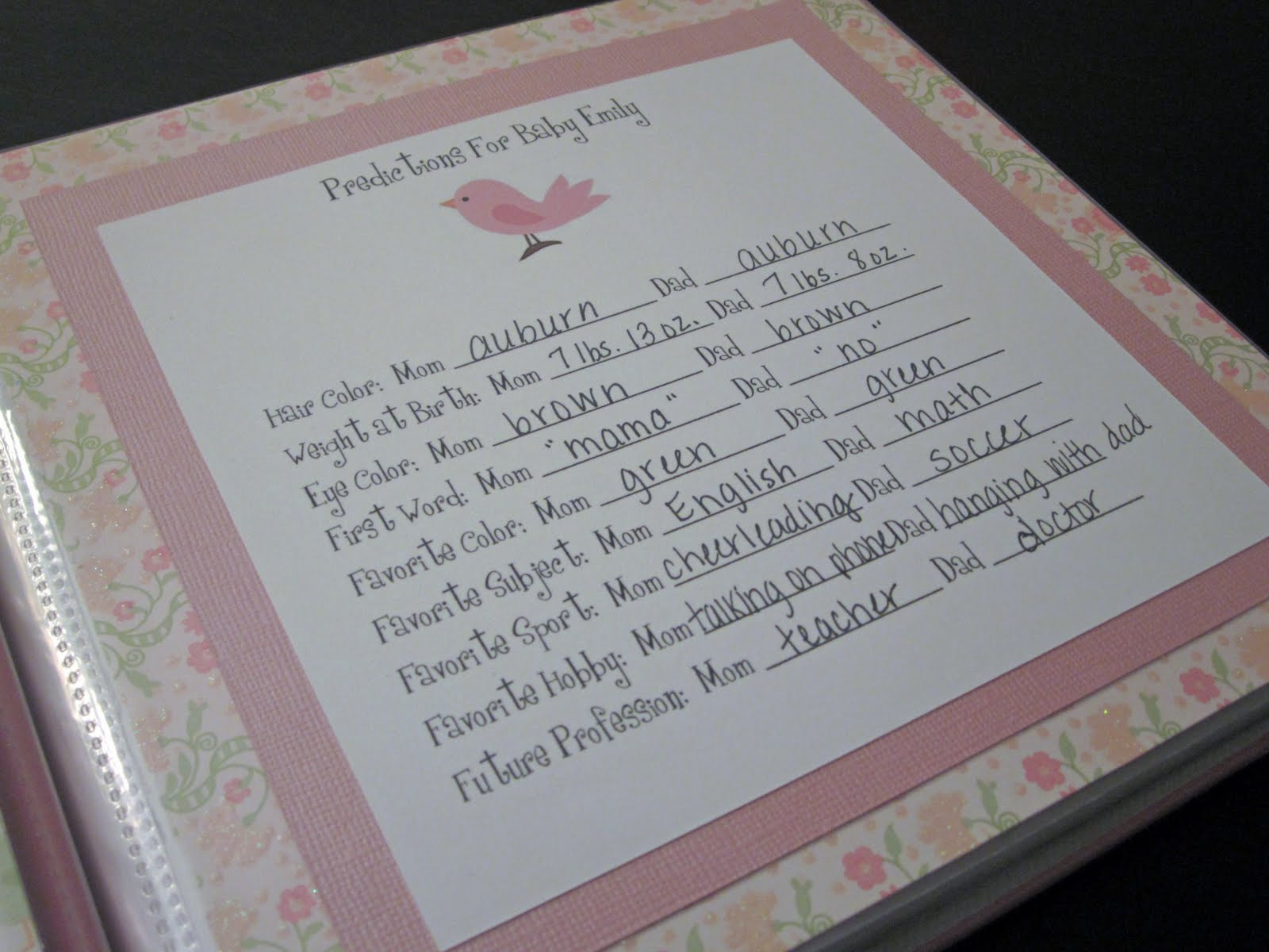 Best ideas about DIY Baby Book . Save or Pin All In A Day DIY Baby Book Now.