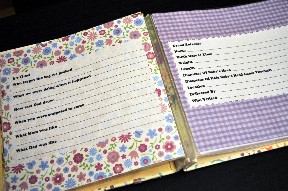 Best ideas about DIY Baby Book . Save or Pin passionate fort DIY Baby Book Now.