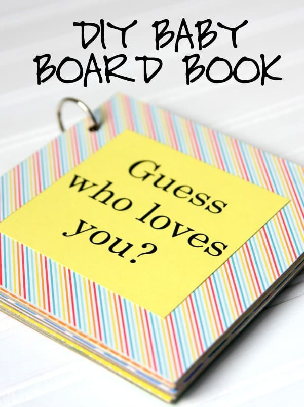 Best ideas about DIY Baby Book . Save or Pin DIY Baby Board Book Happy Go Lucky Now.