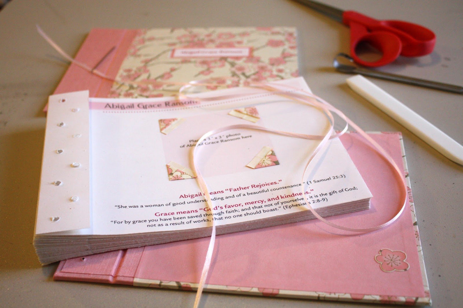 Best ideas about DIY Baby Book . Save or Pin DIY Baby Memory Book BEAUTIFUL SHOES Now.