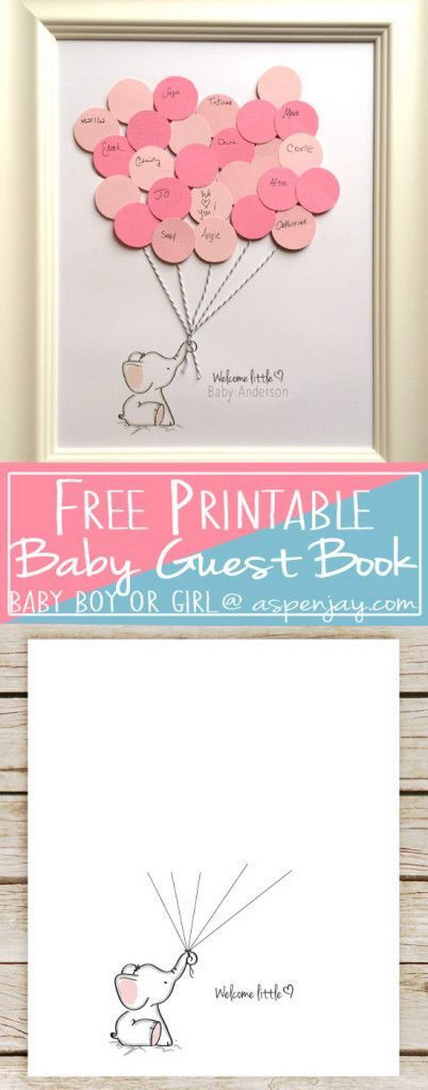 Best ideas about DIY Baby Book . Save or Pin Cool DIY Baby Shower Guest Book Ideas Noted List Now.