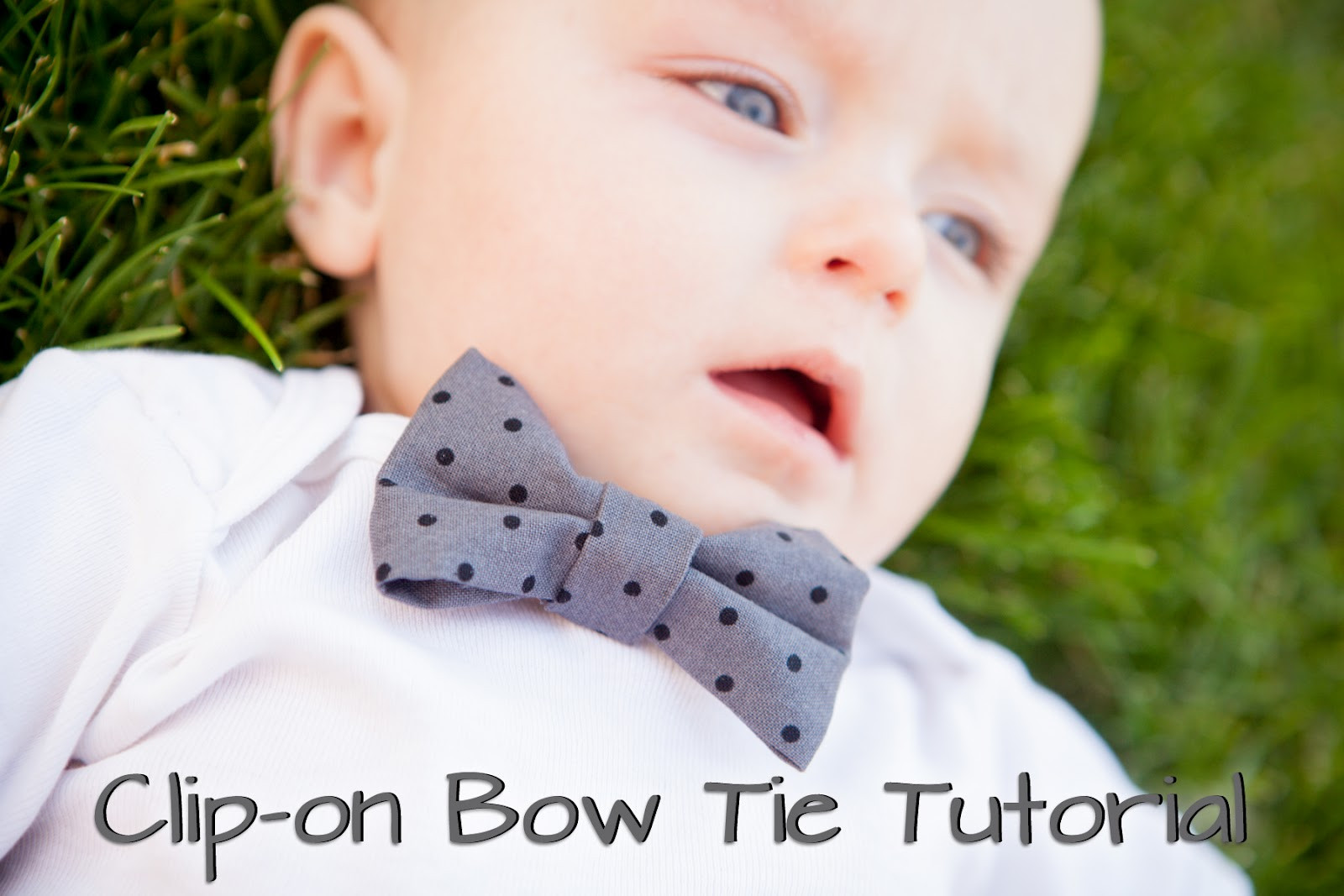 Best ideas about DIY Baby Bow Tie . Save or Pin Mommy Minutes Clip on Bow Tie Tutorial Now.