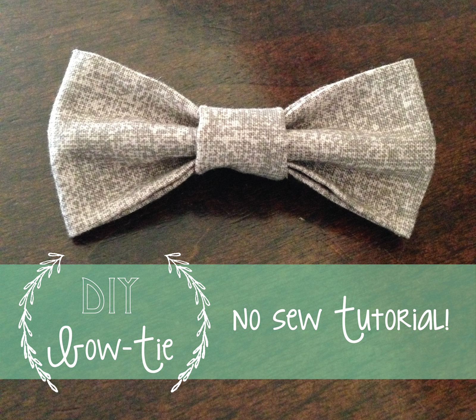 Best ideas about DIY Baby Bow Tie . Save or Pin My Life My Love Kelsie Millet No Sew Baby Bow tie Now.
