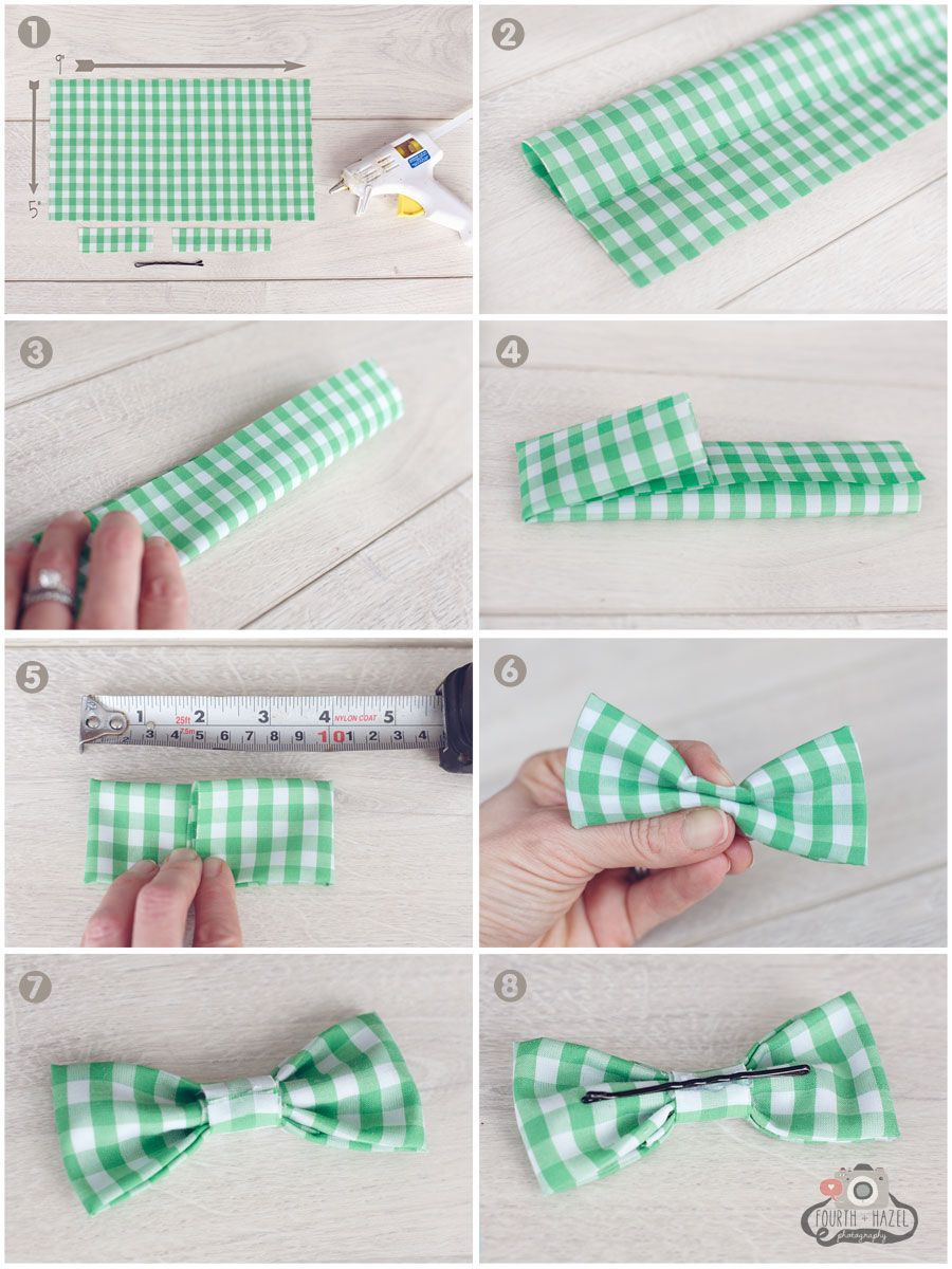 Best ideas about DIY Baby Bow Tie . Save or Pin No Sew Bow on Pinterest Now.