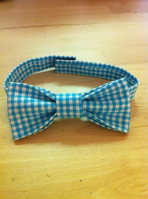 Best ideas about DIY Baby Bow Ties . Save or Pin no sew bow tie Sewing for boys Pinterest Now.