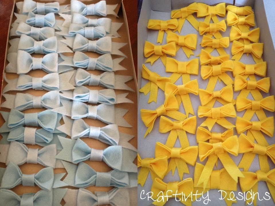 Best ideas about DIY Baby Bow Ties . Save or Pin Bows & Bow Ties Shower The Games – Craftivity Designs Now.