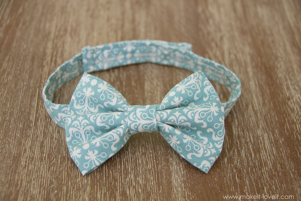 Best ideas about DIY Baby Bow Ties . Save or Pin Little Boy Bowtie the QUICK and EASY version Now.