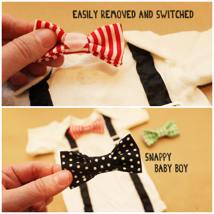 Best ideas about DIY Baby Bow Ties . Save or Pin DIY esie The Perfect Shower DIY How to Make a Tie Now.