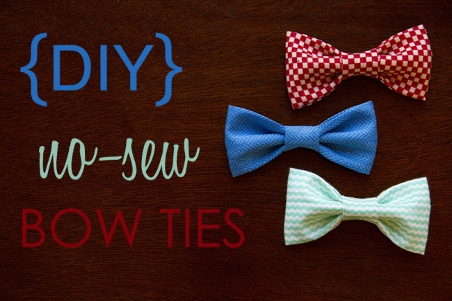 Best ideas about DIY Baby Bow Ties . Save or Pin I Heart Pears 10 Cutest DIY Baby Boy Projects Now.