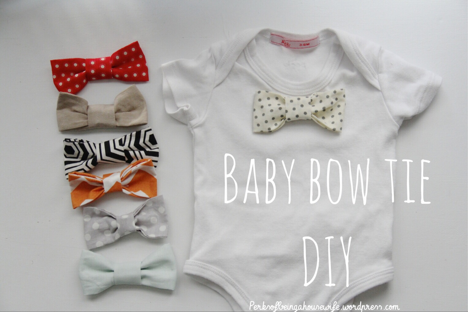 Best ideas about DIY Baby Bows . Save or Pin Baby Bow Tie DIY Now.