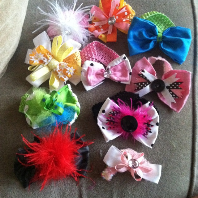 Best ideas about DIY Baby Bows . Save or Pin DIY baby bows Corrissa Now.
