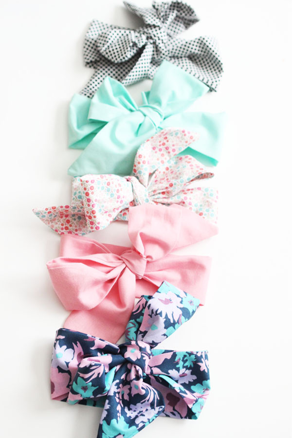 Best ideas about DIY Baby Bows . Save or Pin bright & bold DIY baby bow headwrap Now.