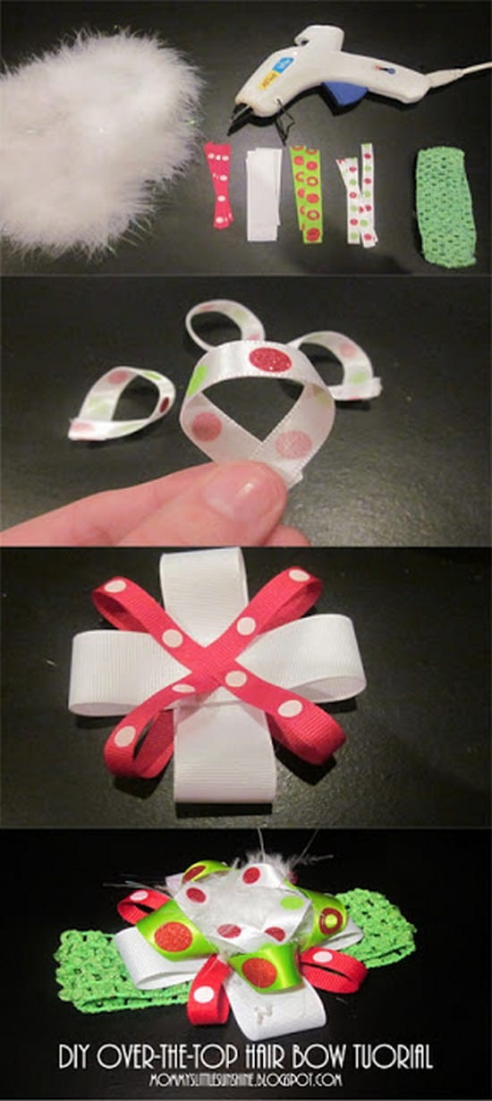 Best ideas about DIY Baby Bows . Save or Pin Cute and Easy To Make Hair Bows Now.