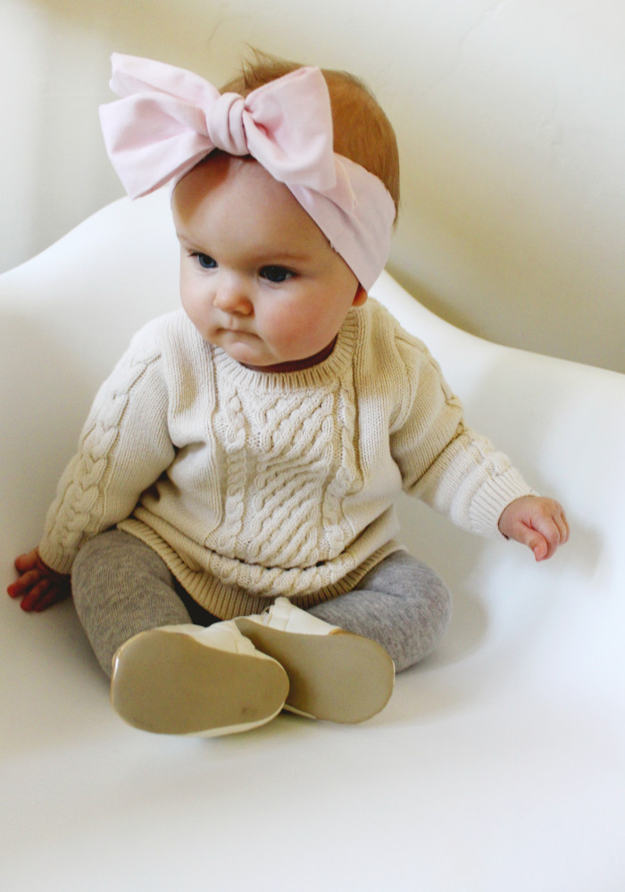 Best ideas about DIY Baby Bows . Save or Pin DIY Baby Oversized Bow Headwraps Now.