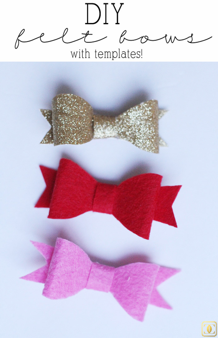 Best ideas about DIY Baby Bows . Save or Pin DIY Felt Hair Bows Now.