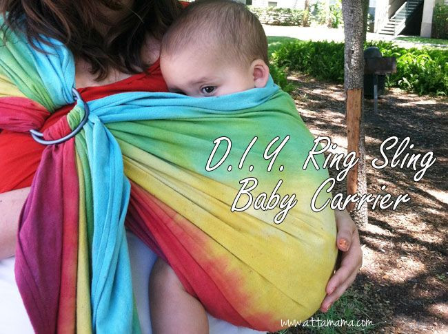 Best ideas about DIY Baby Carrier . Save or Pin DIY Ring Sling Baby Carrier Babywearing Now.