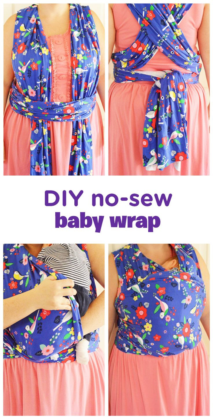 Best ideas about DIY Baby Carriers . Save or Pin DIY No Sew Baby Wrap Now.