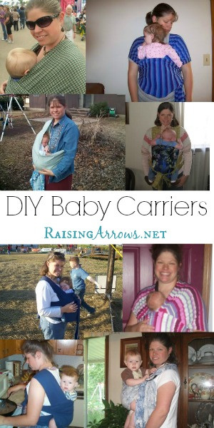 Best ideas about DIY Baby Carriers . Save or Pin Homemade Baby Carriers Raising Arrows Now.