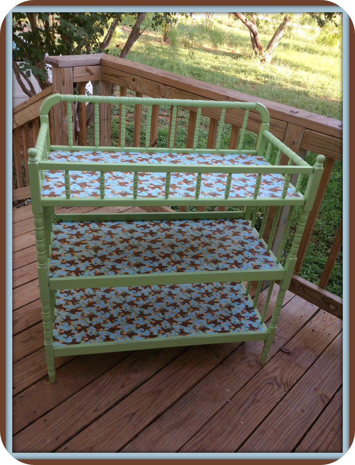 Best ideas about DIY Baby Changing Table . Save or Pin fresh juniper DIY Baby Changing Table Makeover A Tutorial Now.