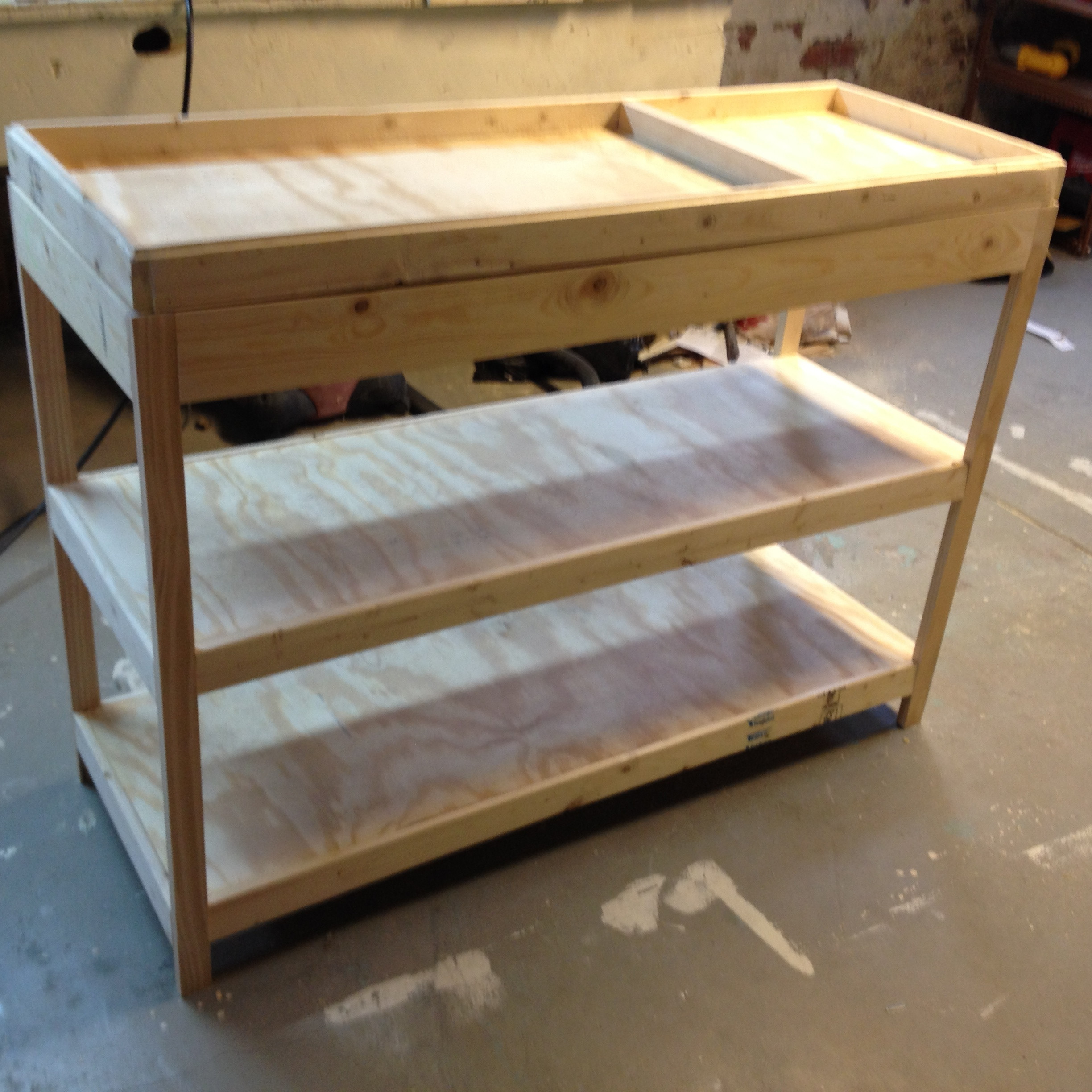 Best ideas about DIY Baby Changing Table . Save or Pin Building a Changing Table – Frugal Living Now.