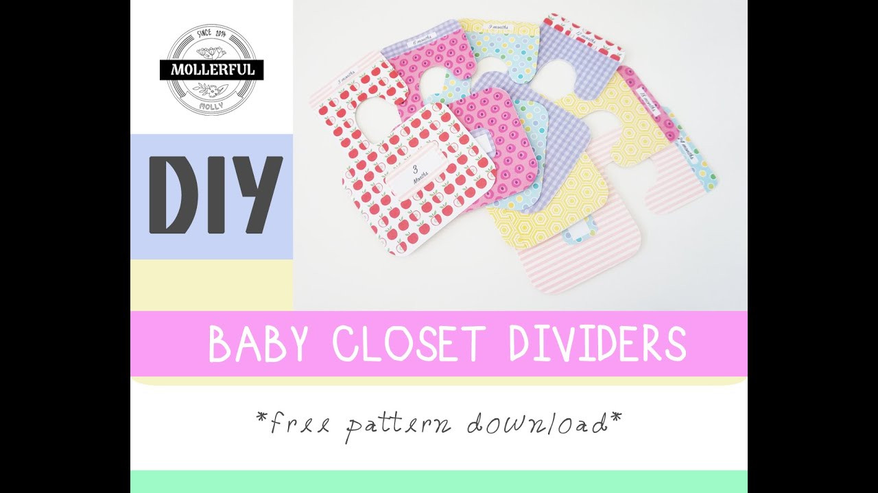 Best ideas about DIY Baby Closet Dividers . Save or Pin DIY Baby Closet Dividers Mollerful Now.