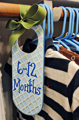 Best ideas about DIY Baby Closet Dividers . Save or Pin DIY Kids Closet Clothing Organizers Now.