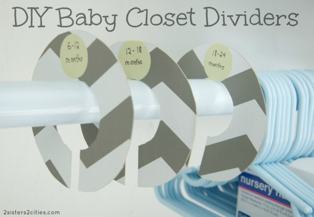 Best ideas about DIY Baby Closet Dividers . Save or Pin DIY Baby Closet Dividers Now.