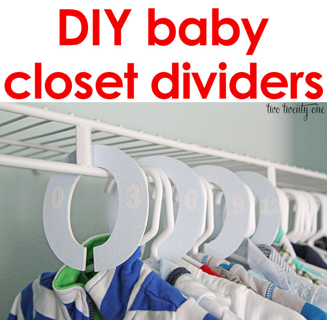 Best ideas about DIY Baby Closet Dividers . Save or Pin Baby Closet Dividers Now.