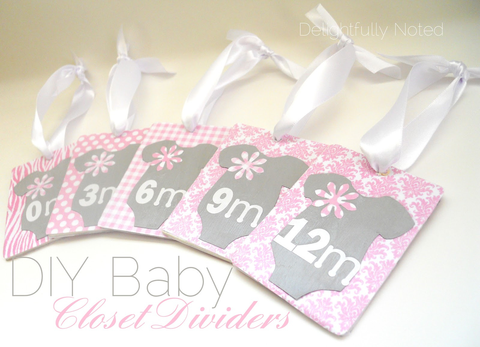 Best ideas about DIY Baby Closet Dividers . Save or Pin Handmade Baby Gifts DIY Baby Closet Dividers Now.