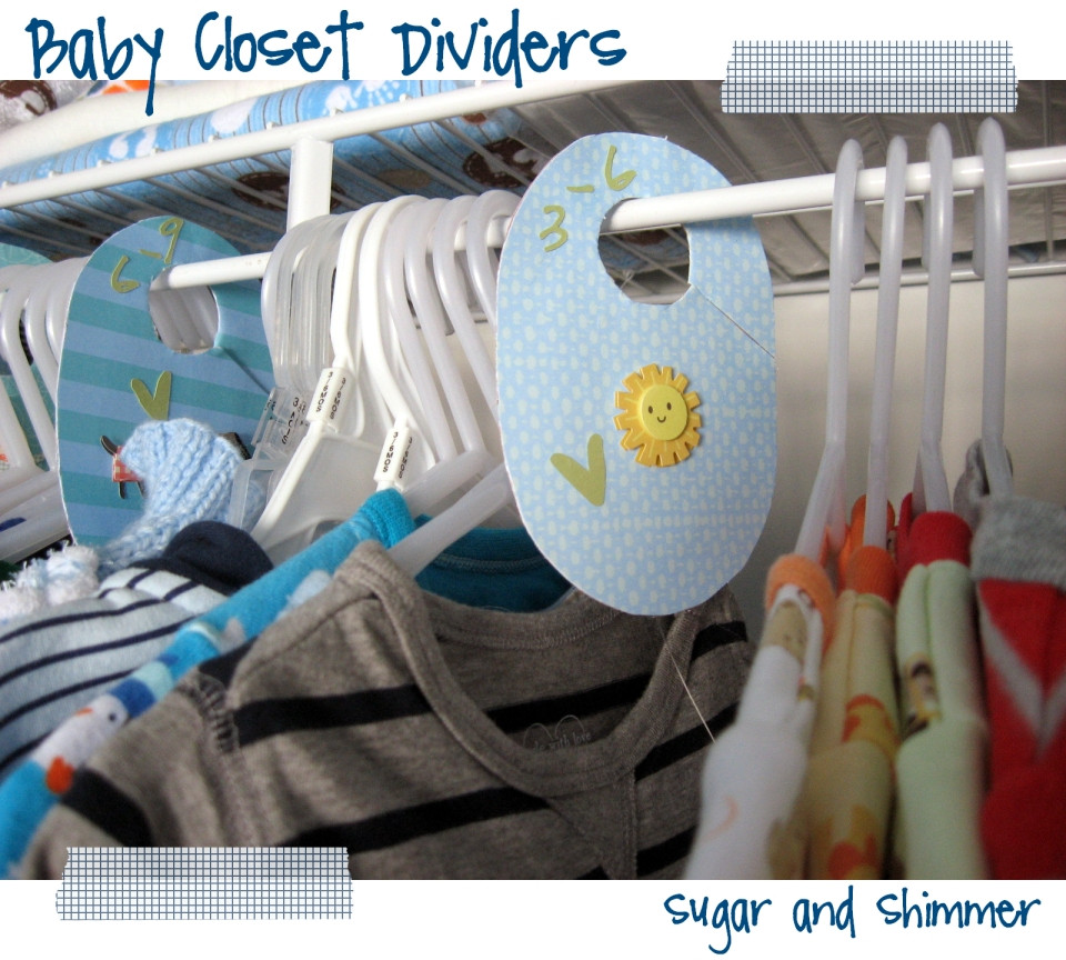 Best ideas about DIY Baby Closet Dividers . Save or Pin Sugar and Shimmer DIY Baby Closet Dividers Now.