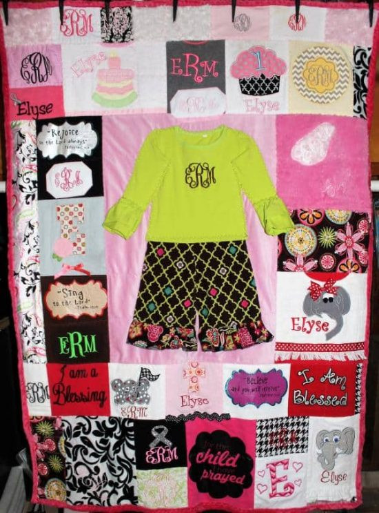 Best ideas about DIY Baby Clothing . Save or Pin DIY Baby Clothes Memory Quilt Pattern Video Tutorial Now.