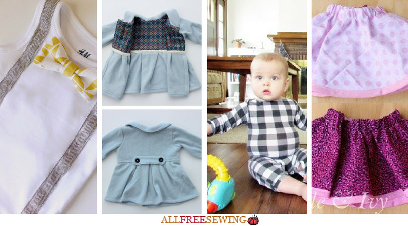 Best ideas about DIY Baby Clothing . Save or Pin Sewing for Baby 18 DIY Baby Clothes Now.