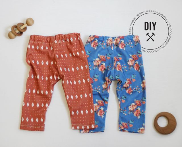 Best ideas about DIY Baby Clothing . Save or Pin DIY Baby Leggings in Spoonflower knit by Mariah Palmer Now.