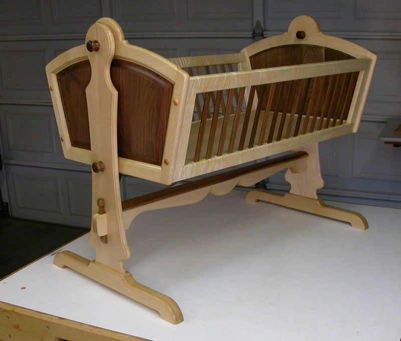 Best ideas about DIY Baby Cradle Plans . Save or Pin PDF Plans Wooden Baby Cradle Plans Download drafting table Now.