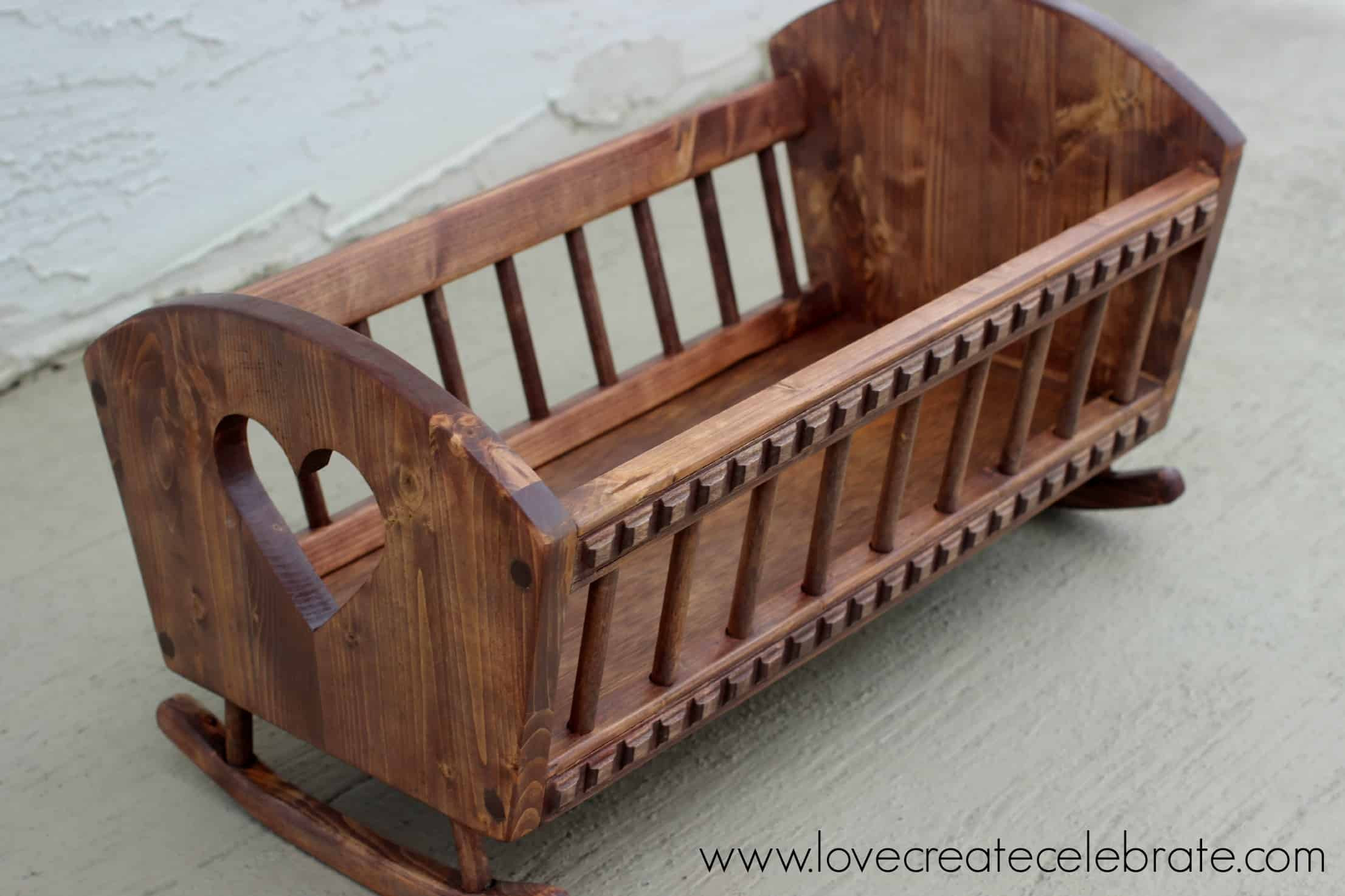 Best ideas about DIY Baby Cradle Plans . Save or Pin Baby Doll s Crib Love Create Celebrate Now.