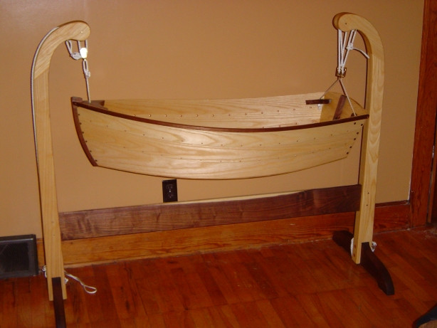 Best ideas about DIY Baby Cradle Plans . Save or Pin DIY Cradle Plans Woodworking Wooden PDF cabinet mission Now.