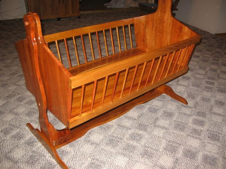 Best ideas about DIY Baby Cradle Plans . Save or Pin Building a Baby Cradle Now.