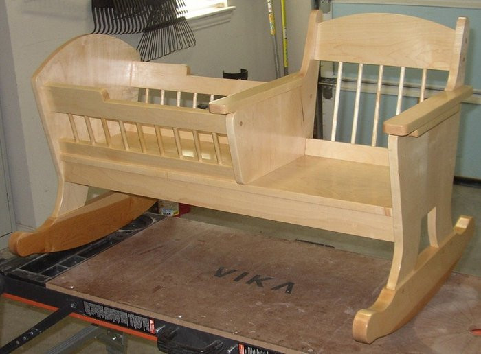 Best ideas about DIY Baby Cradle Plans . Save or Pin Learn how to build a rocking chair crib Now.