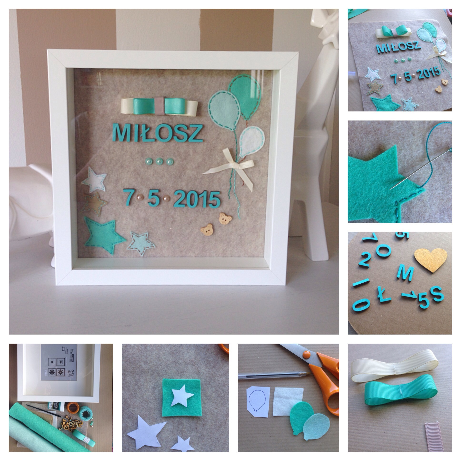 Best ideas about DIY Baby Crafts . Save or Pin DIY personalised baby t – The Crafty Mummy Now.