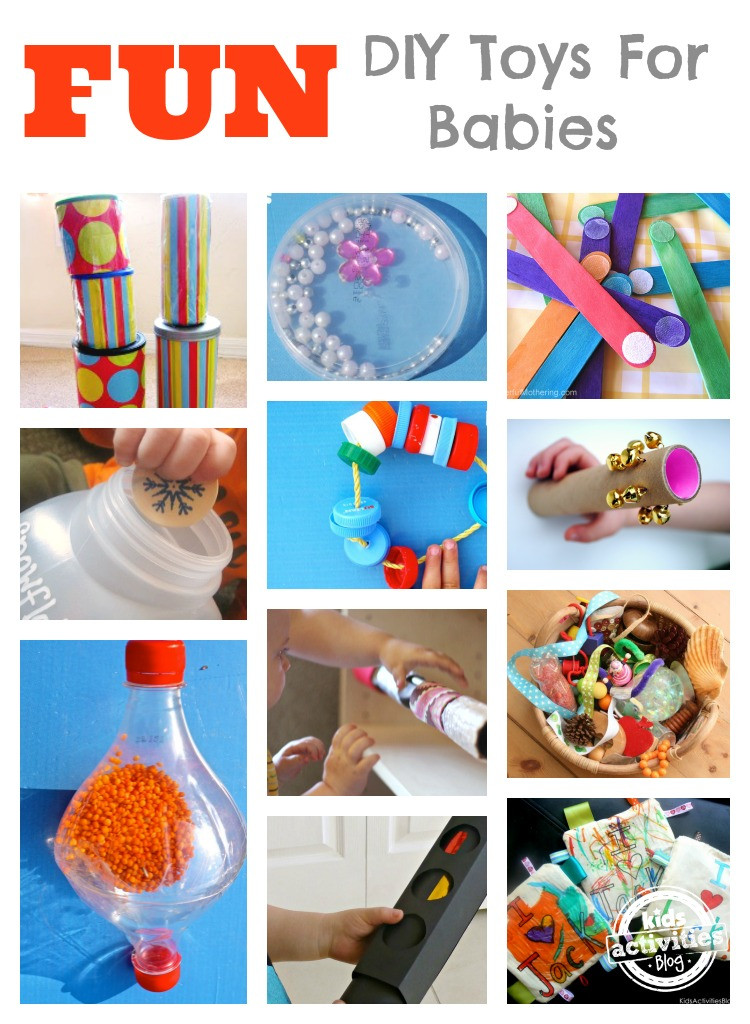 Best ideas about DIY Baby Crafts . Save or Pin DIY Toys for Babies Now.